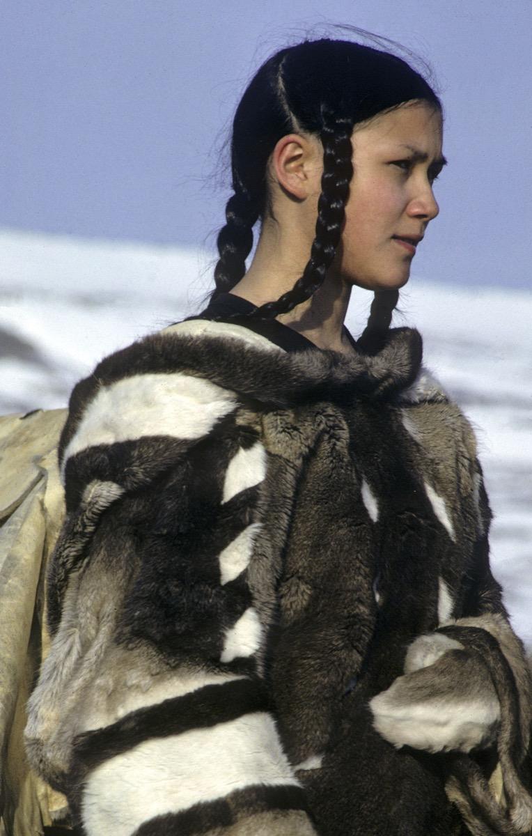 5 Caribou Skin Clothing Pang The Nick Newbery Photo